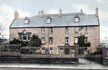 Kilmarnock House, from an old postcard