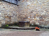 The well in the courtyard